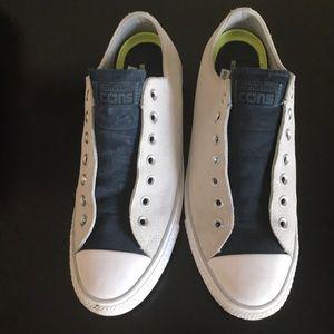White Converse.